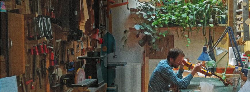 Yann Besson, «luthier dans l'âme et dans les mains»